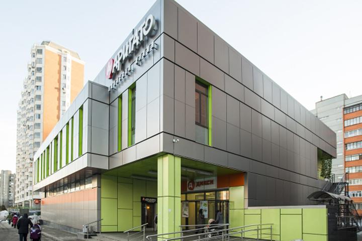 Торговый центр в Люберцах. комплекс № 2