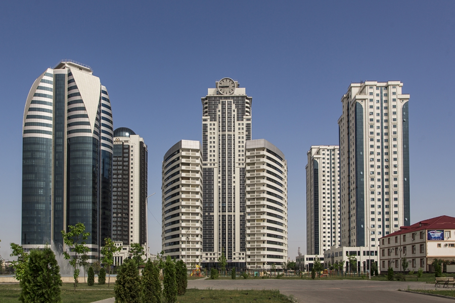 МФЦ «Грозный Сити» башня «Феникс»