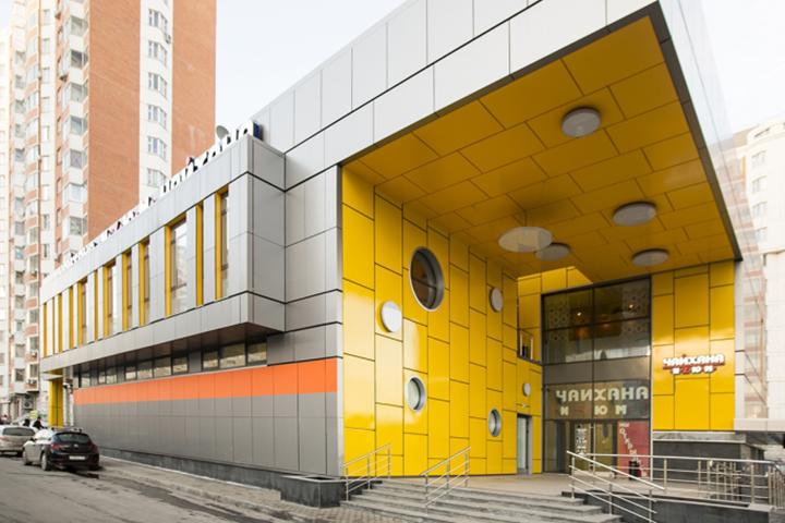 Торговый центр в Люберцах. комплекс № 1